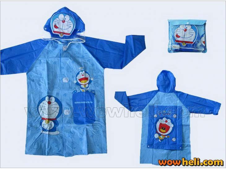 Дети дождь пальто дети плащ дождевики / непромокаемый плащ, Дети водонепроницаемый животное плащ FSWOB
