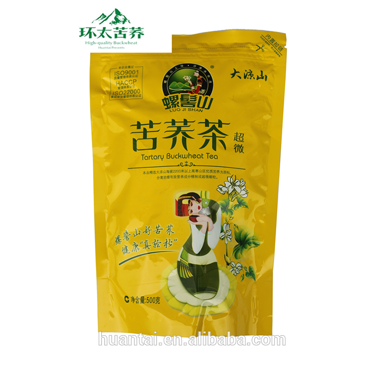 Chinese SiChuan black tartary buckwheat tea coarse cereals