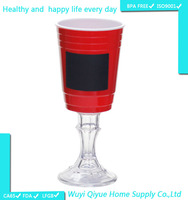 Large Disposable Drink American 16oz red plastic party cup, promotional items funny plastic cup, water dispenser cup holder