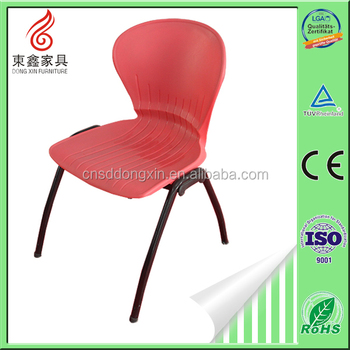 High Quality Durable Stackable Folding Plastic Steel Chair