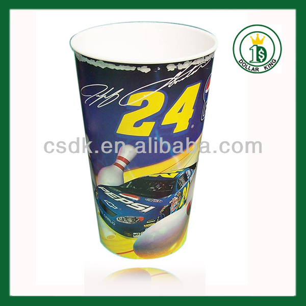 32oz plastic stadium cup 3D holographic Birthday Party Supplies Tea Cup