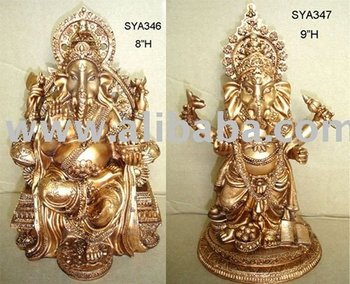 Hindu God Statues, Indian God, Pooja Hindu God (Copper-Colored)