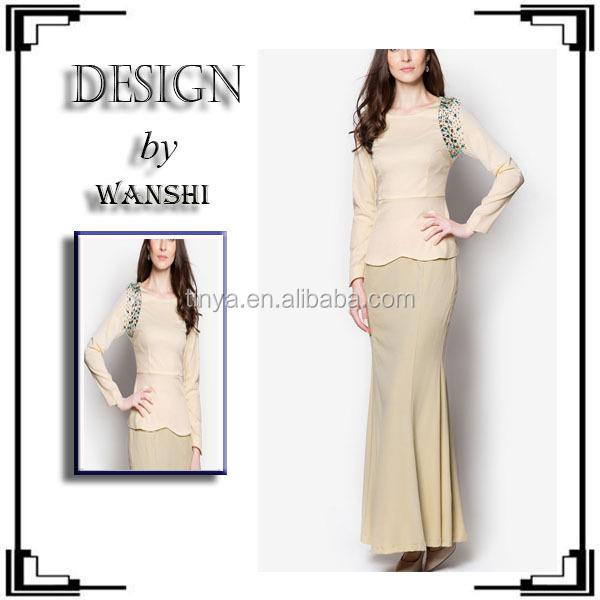 Baju Kurung Cotton,Fashion Baju Kurung Chiffon,Baju Kurung Manik ...