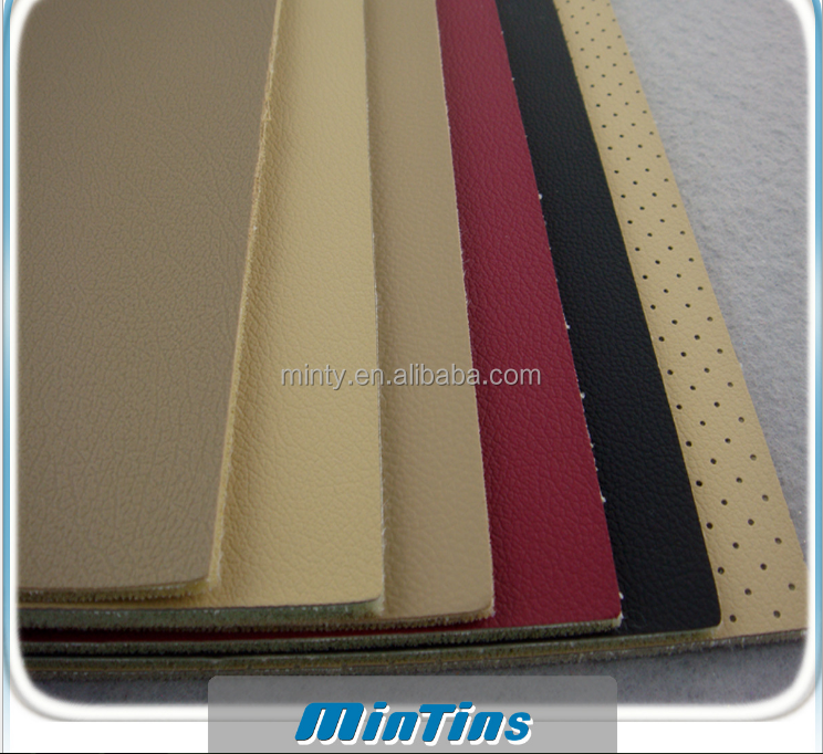 leather pvc for car seat vehicle chair automotive interior