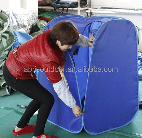 Portable 1 person spa sauna tent