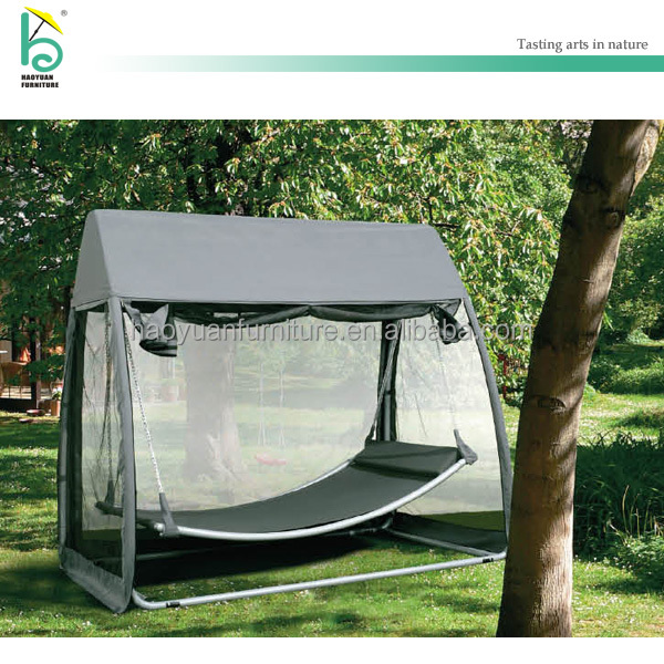 outdoor swing chair with mesh cover