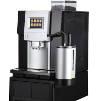 Best seller !!Capuccino coffee vending machine and with coffee grinder for coffee shop furniture