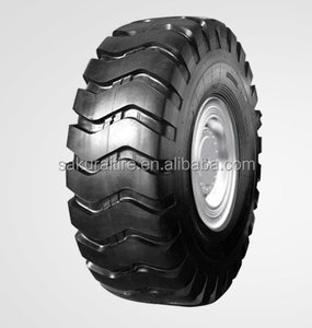 17.5-25 E3 OTR tires used by excavator for tunnels