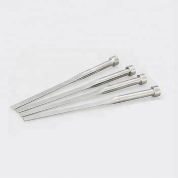 Expulsor Laminar Templado Forma Flat Ejector Pin Hardened Through Type -  Buy Flat Ejector Pin Hardened,Expulsor Laminar,Expulsor Laminar Templado