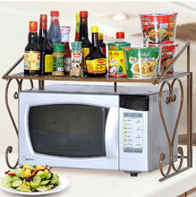 Expandable Kitchen Counter Shelf Home Organizer Rack Cabinet