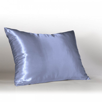 Factory price 100%Cotton printing satin logo pillow cover cheap
