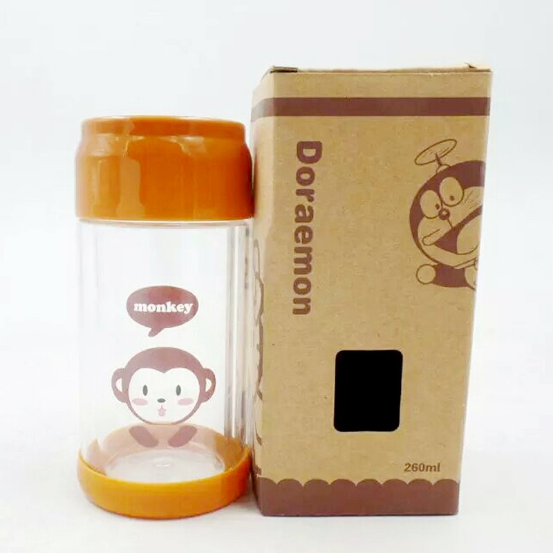 new design glass water bottle for kids manufacturer