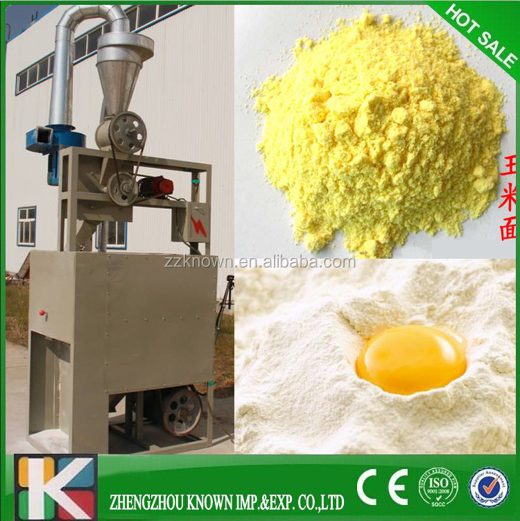 380V Wheat Flour Milling Equipment / Corn Maize Flour Mill Machine Prices with fine flour over 100 mesh