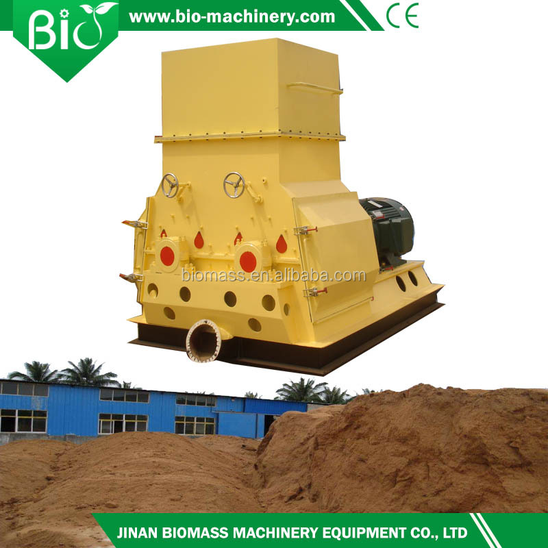 It produces 50-100 tons a grain crusher used