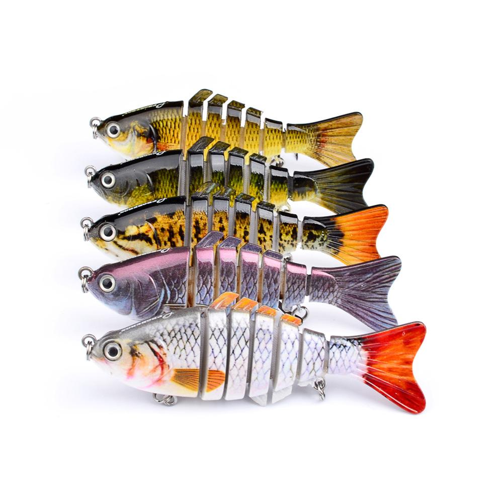 Peche Leurre Pesca Mar 15.5g/10cm 5 Colors 7 Segment Hengelsport Berkley Carp Fishing Lures Fishing Tackle