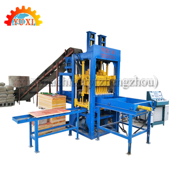 Semi Automatic Wood Sawdust Brick Block Making Machine Myib Interlocking  Brick Machine In Thailand - Buy Semi Automatic Brick Making Machine,Wood