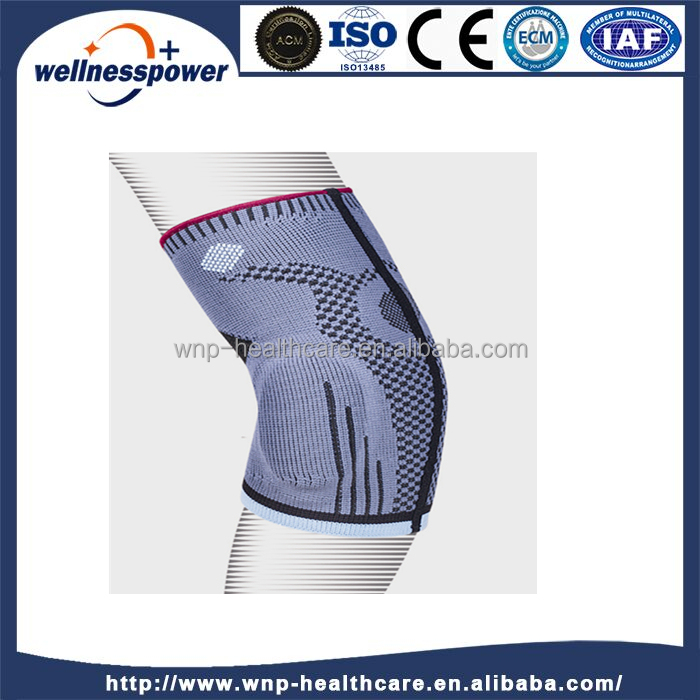 Compression Knit elbow Sleeve brace w/ Gel Support