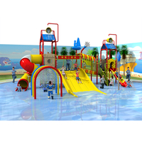 Plastic Type Swimming Pool Slides water park playground