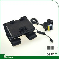 WT01 Wearable Barcode Data Collection Terminal For Mobile Phone