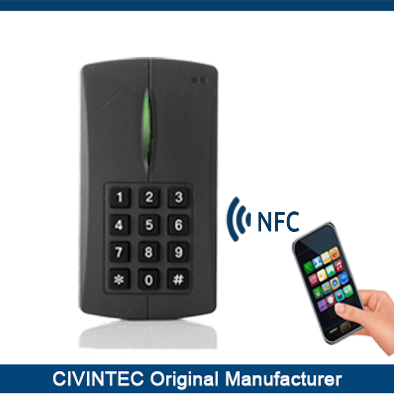 Keypad Ethernet networked access control system