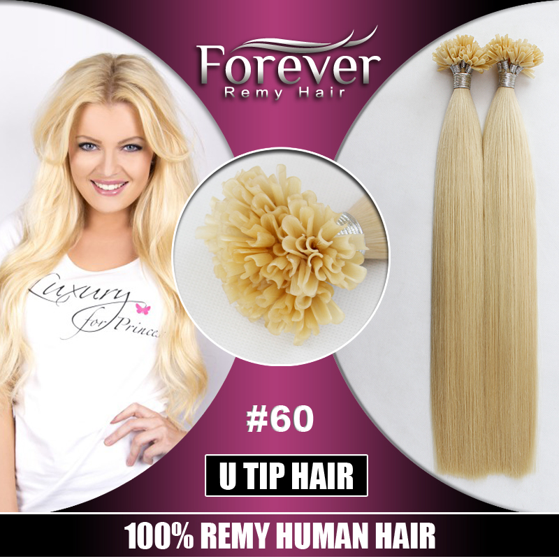 Wholesale Price Human Remy Prebonded Extension U Tip Hair View U