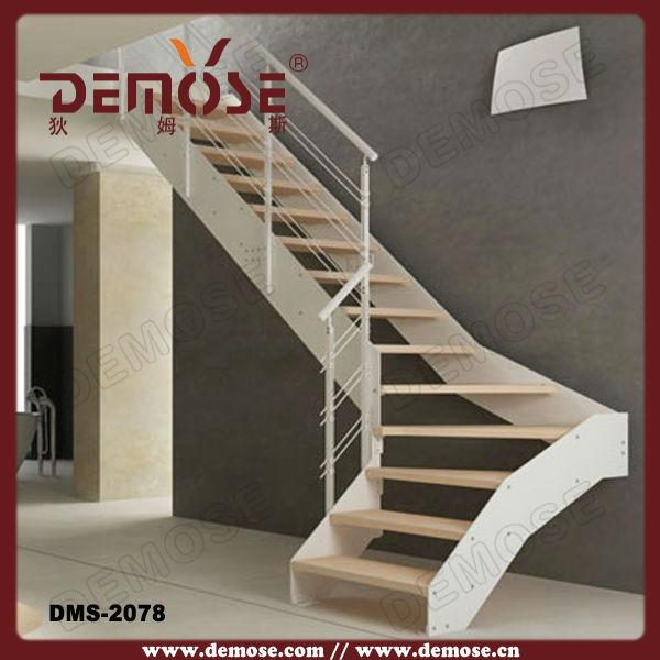 Construir en forma de l de acero escaleras de diseño/de la ...