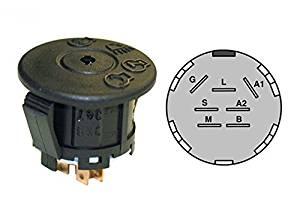 Ignition Switch w/keys CUB CADET, John Deere, Husq, MTD 725-04227, 925-04227 ,product_by: powerlawnmowerparts~hee18112048238537