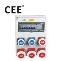 CEE Customized 3 phase portable Industrial waterproof power distribution box