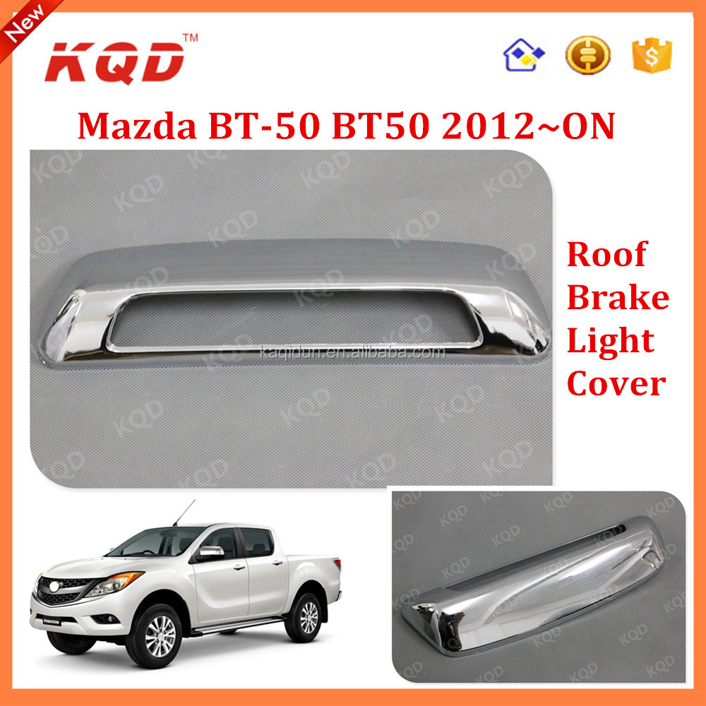 CHROME 4 DOOR HANDLE BOWL FOR MAZDA BT50,BT-50,BT 50 BT-50 PRO PICKUP 2012-2015