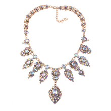 crystal jewelry fashion pendant necklaces women 2017