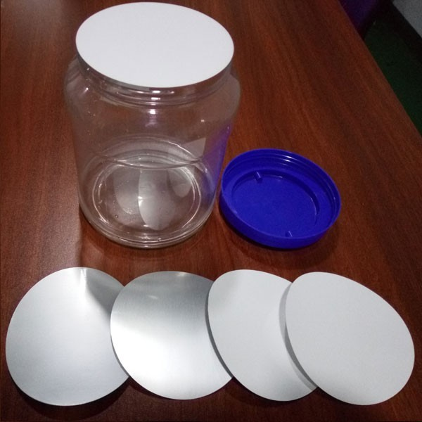 aluminum induction foil cap seal liner used in plastic bottle