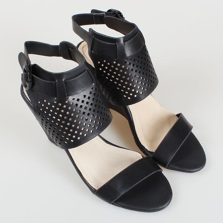 Hot Sale Summer Gladiator Wedge Sandals Women Cutouts Open ...