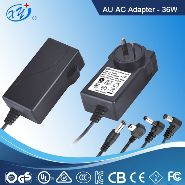 12v 3a 36w universal lapto power adapter with SAA CE ROHS Certified
