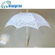 Wedding gifts for guests custom white parasol cotton umbrella