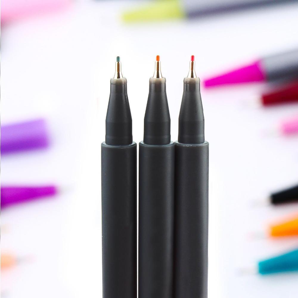 Línea Muy Fina Pluma De Dibujo Para Dibujar Y Escribir Set De 10