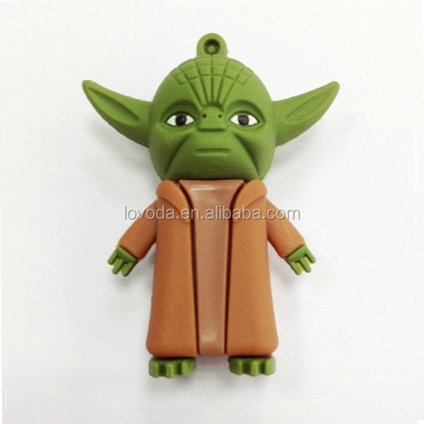 Hot selling wholesale cartoon star war usb stick/usb flash memory 500gb/usb flash drive 16gb make sure good quality LFN-060