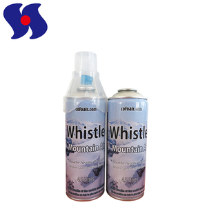 High Standard Empty Oxygen Aerosol Spray Packaging Metal Cans with Mask