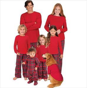 Family Matching Clothes Christmas Pajamas Sleepwear Nightwear Custom Photo  Pajamas 0dac5156f