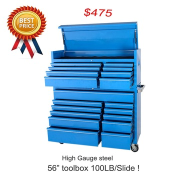 "Extreme Promotional heavy duty 56"" RXE Series cheap custom tool master chest and cabinet"