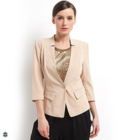 T-WB504 Ladies Office Wear Designs 100% Polyester Blazers Factory