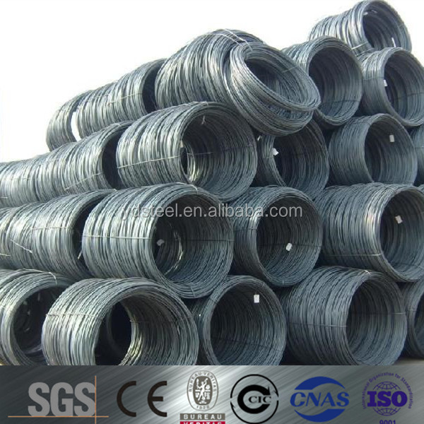 Steel wire rod sae1008 5.5-14mm hot sale with low price