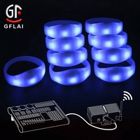 New Product Ideas 2019 Diy Programmable Craft Gift Candle Light Colors DMX Remote/Radio/Wireless Control RFID Led Bracelet