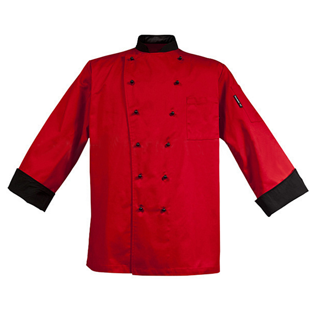 Spring Autumn Newest Bar Chef Work Wear Uniforms For Catering Staff Fashion Kitchen Cooker Jacket Unisex Chef Coat