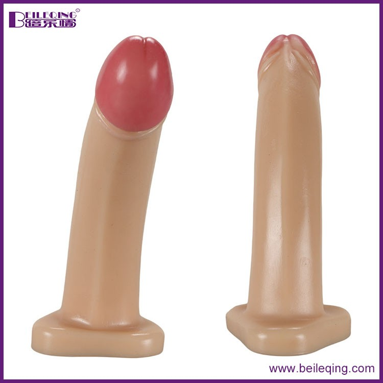 7.28 inch silicone dildo enhance female libido anal dildo massager sex toy sex toy BLQ-064