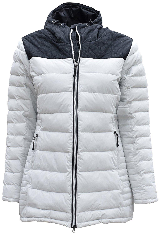 fc957d2db3 Get Quotations · Pulse Women s Plus Size Hip Length Alternative Down Coat