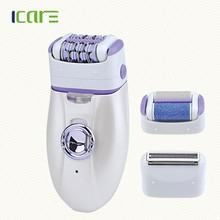 Wiederaufladbare 3 in 1 lady shaver set mit massage <span class=keywords><strong>funktion</strong></span>/epilierer