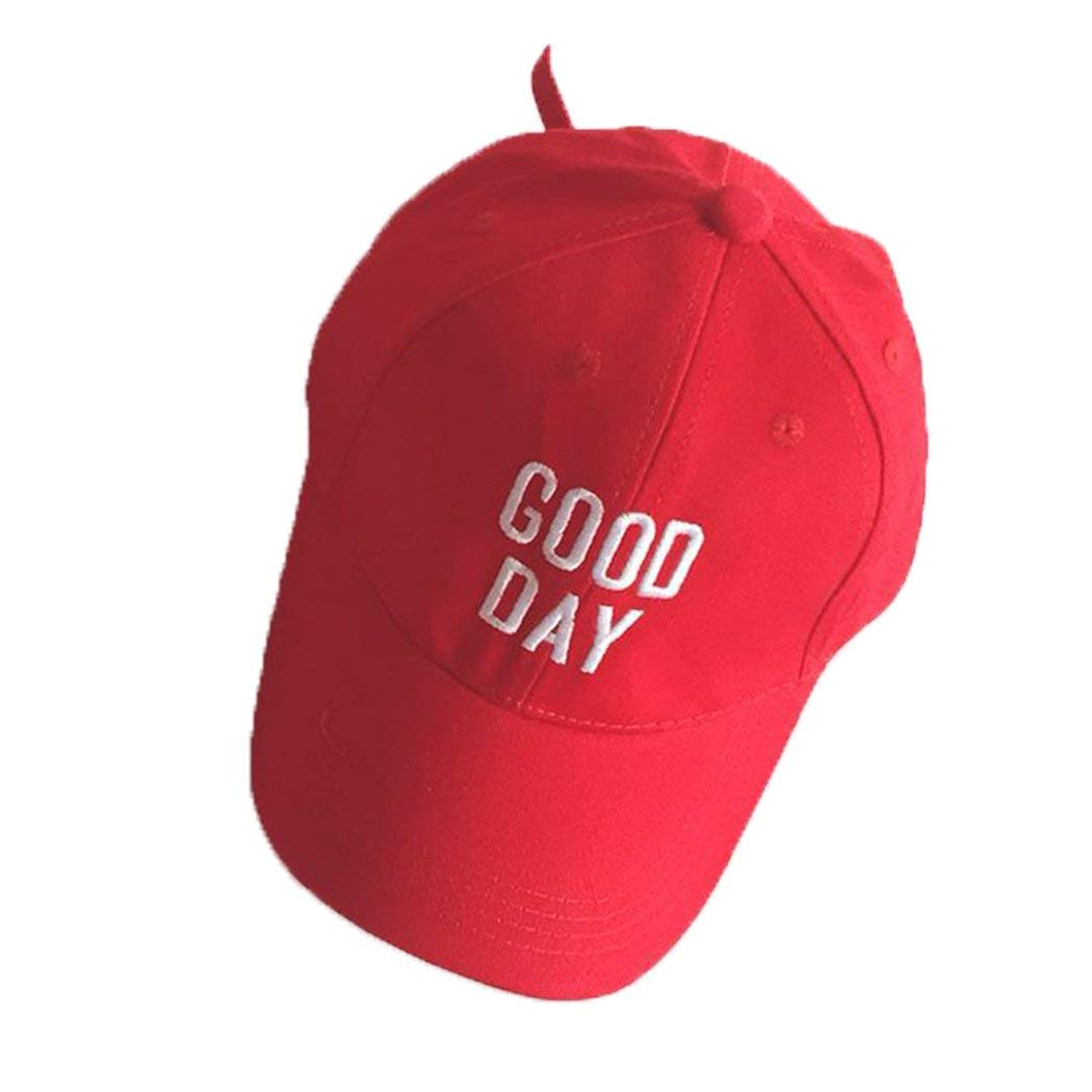 c285f52792f Get Quotations · HANMAX Baby Toddler Girl Embroidery Baseball Cap Snapback  Hip Hop Flat Hat