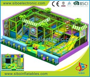 GM excellent quality baby play structures indoor play centre playground slide sale