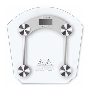 Good Quality Smart Portable Electronic Body Fat Digital Bathroom Scale Glass Scale