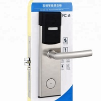 Intelligent Contactless Card Access Hotel Door Lock With Rfid Card Hotel Lock System